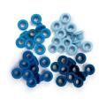 Люверсы Standard Eyelets - Aluminum Blue, 60 шт, 41578-7