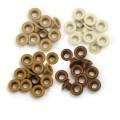 Люверсы Standard Eyelets – Aluminum Brown, 60 шт, 41581-7