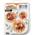 Брадсы Basic Brads Glitter - Orange, WeRMemory Keepers, 42053-8