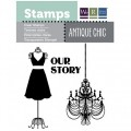 Штампы  Our Story - Antique Chic , We R Memory Keepers, 42298-3