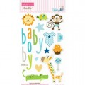 Высечки чипбордовые Baby Boy, Bella BLVD, 426