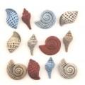 Набор пуговиц Seashells, Buttons Galore, 4262