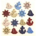 Набор пуговиц Ahoy, Buttons Galore, 4263
