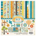 Набор бумаги All About a Boys, размер 30х30 см, Echo Park, AAB44016