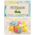 Набор пуговиц Baby Plaid, Buttons Galore, 4429