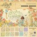 Набор бумаги Secret Garden, 30х30 см, Graphic 45, 24 листа, 44500635