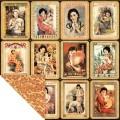 Бумага двусторонняя для скрапбукинга Shanghai Girls, Graphic 45, 45-579