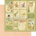 Бумага двусторонняя для скрапбукинга Springtime, Graphic 45, 45-650