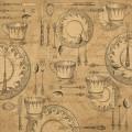 Бумага крафт для скрапбукинга Tea for Two, Graphic 45, 4500475