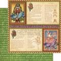 Лист картона Festive Fairytale, Nutcracker Sweet, Graphic 45, 30×30 см, 4500552
