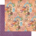 Лист картона Sugar Plum Fairy, Nutcracker Sweet, Graphic 45, 30×30 см, 4500556