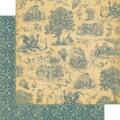 Лист картона Provance, French Country, Graphic 45, 30 х 30 см, 4500636
