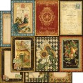 Бумага двусторонняя для скрапбукинга 30х30 см, A La Carte, Graphic 45, 4500637