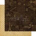 Лист картона Montage, French Country, Graphic 45, 30 х 30 см, 4500638