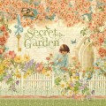 Лист картона Secret Garden, Secret Garden, Graphic 45, 30 х 30 см, 4500649