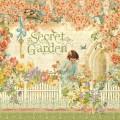 Лист картона Secret Garden, Graphic 45, 30х30 см, 4500649
