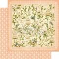 Лист картона Leafy Treetops, Secret Garden, Graphic 45, 30×30 см, 4500651
