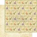 Лист картона  Seed Fairy, Secret Garden, Graphic 45, 30×30 см, 4500652