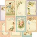 Лист картона May Flowers, Secret Garden, Graphic 45, 30×30 см, 4500660