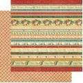 Лист картона Joyeux Noel, Days of Christmas, Graphic 45, 30×30 см, 4500722