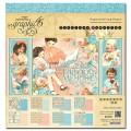 Набор бумаги Precious Memories, 30х30 см, Graphic 45, 4501093
