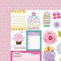 Бумага Cute Cuts, Birthday Girl, 30 Х 30 см, Bella BLVD, 458