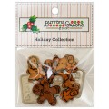 Набор пуговиц Gingerbread Cookies, Buttons Galore, 4727