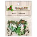 Набор пуговиц Christmas Greens, Buttons Galore, 4736