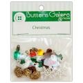 Набор пуговиц Christmas Minis, Buttons Galore, 4746