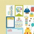 Бумага Cute Cuts, Birthday Boy, 30 х 30 см, Bella BLVD, 477