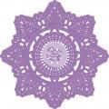 Нож Prima Marketing-Purple Metal-Crochet Doily - 9,5 см