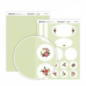 Бумага дизайнерская Магия роз 4, 5310028