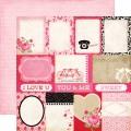 Бумага Journaling Cards, 30х30 см, Echo Park, LS40013