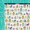Лист бумаги Pajama Day, Snapshots, Bella BLVD, 630