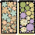 Набор высечек Secret Garden Cardstock Flowers, Graphic 45, 4500664