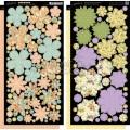 Набор высечек Secret Garden Cardstock Flowers, Graphic 45, 4500664