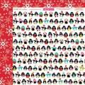 Бумага, Chrtistmas Cuties, Chrtistmas Countdown, 30х30 см,  Bella BLVD, 682