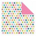 Лист бумаги Color Crazy Starz, Lucky Starz, Bella BLVD, 741