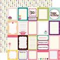 Бумага Journaling Cards, 30х30 см, Echo Park, LG10012