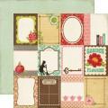 Бумага Journaling Cards, 30х30 см, Echo Park, THG27012