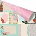 Лист бумаги Sewing Basket, 30х30 см, Prima, 846329
