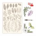 Чипборд Emotion&Romance 2, белый картон, 12,8х20 см