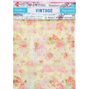 Бумага для декупажа, Vintage1, 2 листа 40*60 см, Santi, 952469
