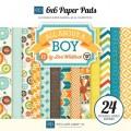 Набор бумаги All About a Boy, Echo Park, 15х15 см, 12 листов, AAB44023