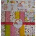 Набор односторонней бумаги Моя малышка, AL-1501001