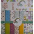 Набор односторонней бумаги Мой малыш, AL-1501002