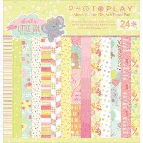 Набор бумаги About a Little Girl, 15х15см, Photoplay, ALG2467
