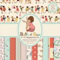 Набор бумаги Belle and Boo, 20×20 см, 12 листов, Belle and Boo, BBDP002