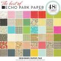 Набор бумаги Best of Echo Park, 30х30 см, 48 лист.,Echo Park, BEP101