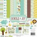 Набор бумаги Bundle of Joy Boy, 30х30 см, 12 листов и 2 листа наклеек, Echo Park, BJB46016